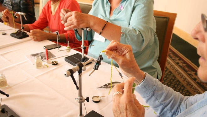 Practice fly tying. Fly fishing brings many health benefits.