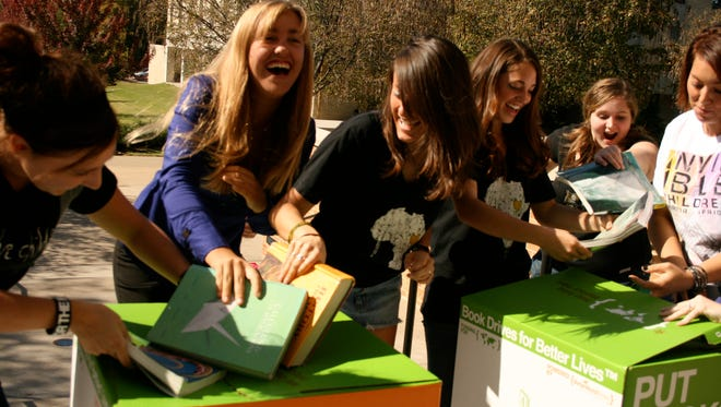 College book drives are just some of the programs that online book store Better World Books engages in.