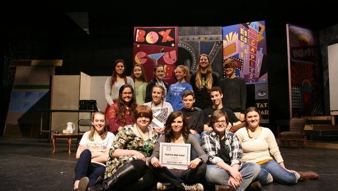 The Parkview Theatre troupe was recognized as an Honor Troupe at the recent 2016 Missouri Thespian Conference in Kansas City.