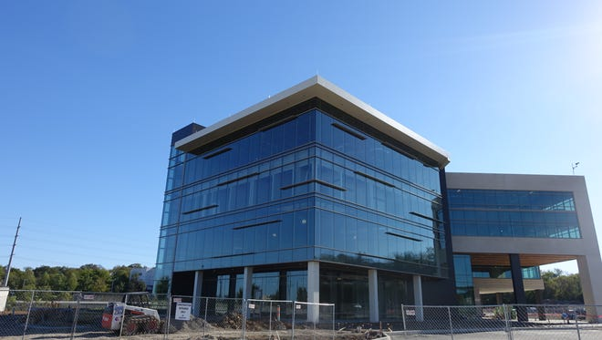 The first medical office building at the OneC1TY mixed-use development near the 28th/31st Avenue Connector