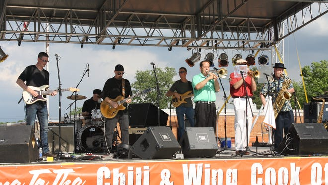 The Shriner's Chili & Wing Cook Off is May 21 on the Miracle Mile.