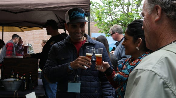More than 30 home brewers participated in the inaugural Steinbeck's Home Brew Fest in OldTown on Saturday.