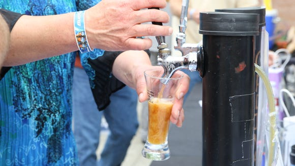 More than 30 home brewers participated in the inaugural