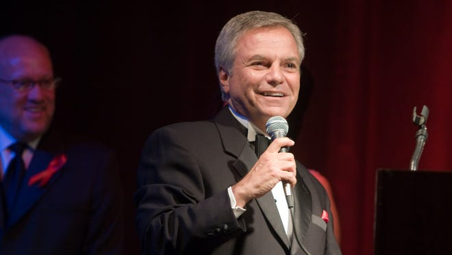 Rick D'Amico, seen in 2008, announced his retirement from Channel 10 (KSAZ) on Wednesday, June 1.