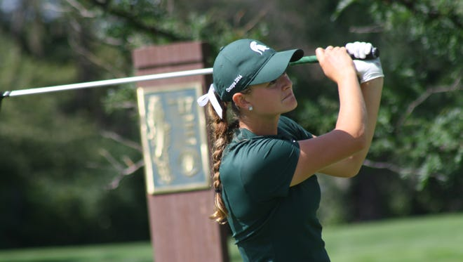 Former Michigan State golfer Lindsey McPherson will play in the Meijer LPGA Classic June 16-19 at Blythefield Country Club, just north of Grand Rapids.