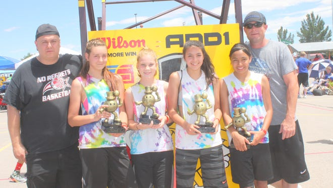 No Regrets had a championship girls team at the Gus Macker event in Las Cruces.