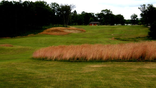 The 18th hole on the Red course on The Loop in Roscommon.
