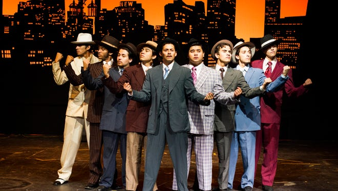 """The El Paso Community College Summer Repertory will perform the classic, Tony Award-winning musical """"Guys and Dolls"""" at 8 p.m. Friday, Saturday, Thursday and Sept. 2-3; and 2:30 p.m. Sunday and Sept. 4 at the EPCC Transmountain Forum Theater, 9570 Gateway North."""