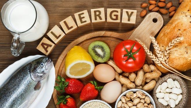 Top allergic foods