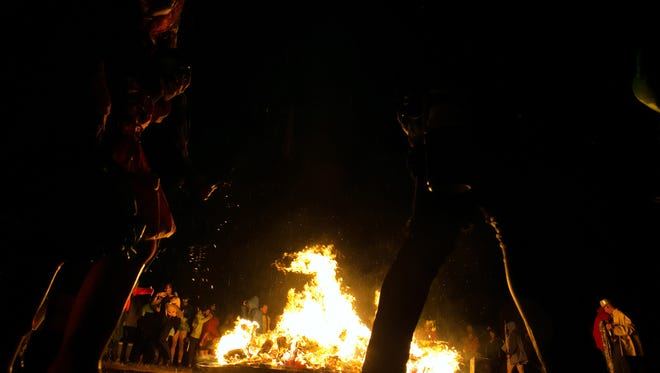 A man was found dead while crews were breaking down camp sites at Playa del Fuego, Delaware's version of Burning Man.