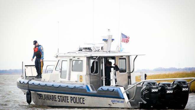 The Delaware State Police and multiple other agencies will be conducting training in the Delaware Bay this week.
