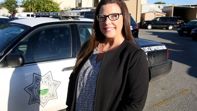 Salinas Police Community Services Officer Melanie Coffin.
