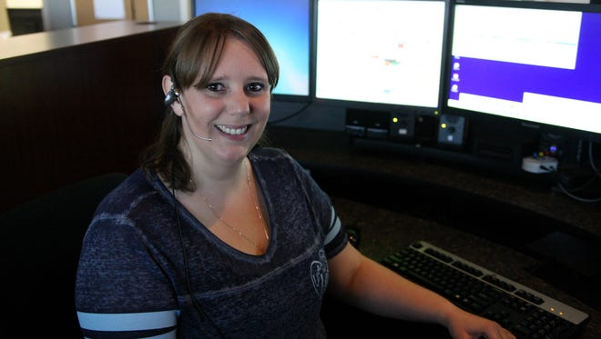 Dispatcher Kari Fowler