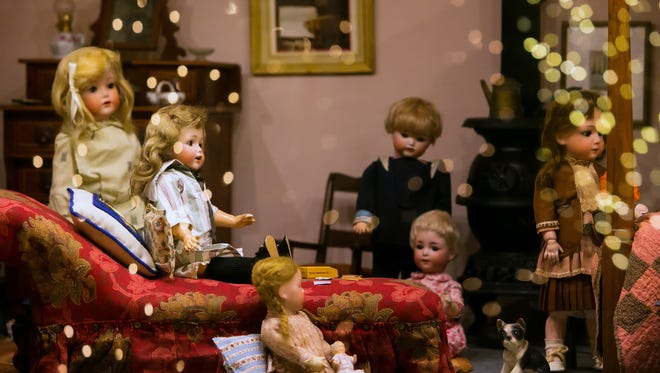 The annual A Brandywine Christmas at the Brandywine River Museum of Art is on display through January 8, 2017, and includes doll house displays.