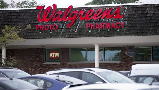 File photo taken n 2016 shows a Walgreens drug store in Springfield, Virginia.