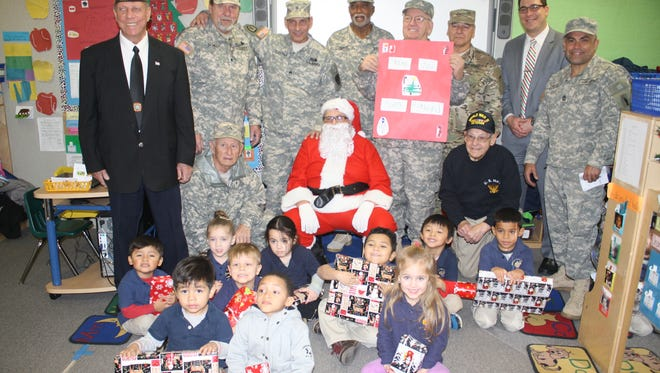 The Garfield VFW handed out over 250 toys to students on Dec. 21.