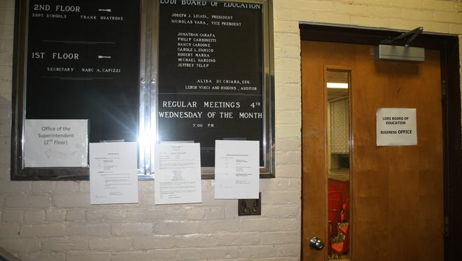 The Lodi Board of Education building. A reoganization meeting is scheduled for Wednesday.