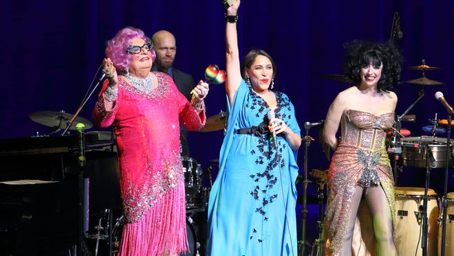 Dame Edna, China Forbes of Pink Martini, Meow Meow