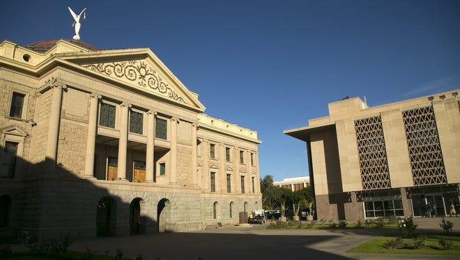The Arizona state Capitol in Phoenix on Jan. 6, 2017.