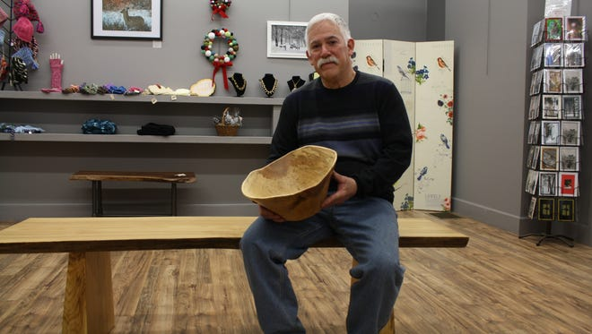 Gerald Arbes and his wife own Gallery Forty-One in Owego.