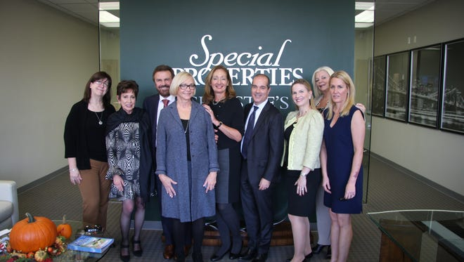 Special Properties Team with Dan Conn, Chief Executive Officer, and Kathleen Coumou, Executive Director, of Christie's International Real Estate.