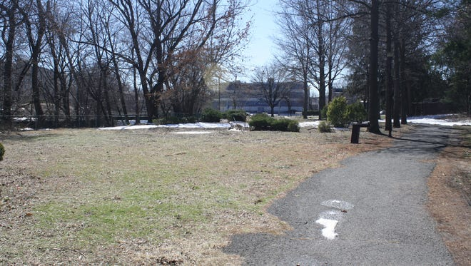 The former mini golf area bordering Bernice Place and First Street could be home to a new ADA playground