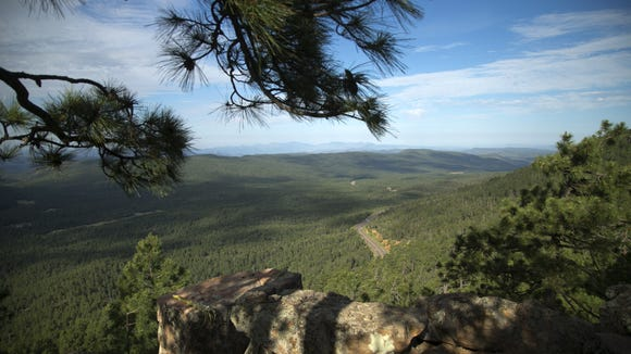 Does the fearsome Mogollon Monster wander the wilds of the Mogollon Rim at night?