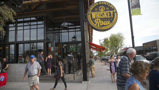 Dierks Bentley's Whiskey Row in Gilbert has been sold for $8.1 million. The restaurant and bar will continue to operate.