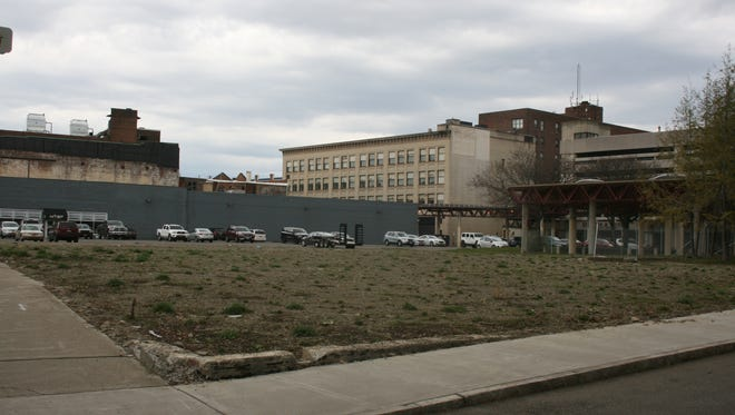 This lot on West Water Street will see several changes, including a new building, following the implementation of Elmira's $10 million Downtown Revitalization Initiative plan.