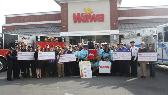 Wawa celebrated its 53rd birthday by holding the stores New Jersey celebration in Garfield on April 13.