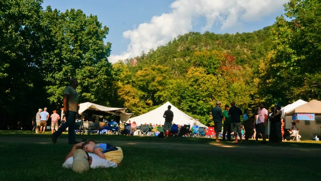 French Broad River Festival is part-relaxing, part-camping, part-dancing and part-paddling.