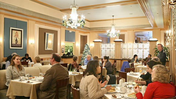 The Envoy restaurant in the Ambassador Hotel, 2308