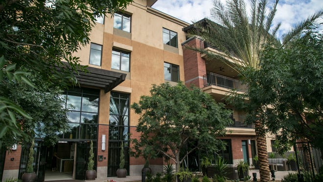 A new luxury condominium in the Enclave at Borgata in central Scottsdale is this week's priciest home sale at $3,897,063.