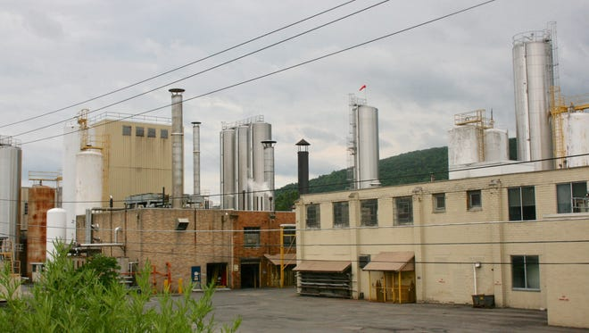 The Kraft Heinz cheese plant in Campbell, New York.