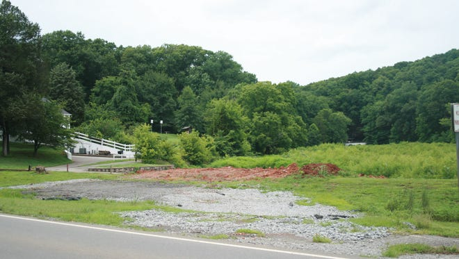 Work had been scheduled to start on Swan Lake in May, but a wet summer has delayed the projects. So far only some fill dirt for haul roads has been moved onto the work site.