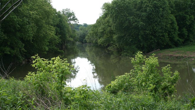 Parts of the proposed Clarksville Urban Wilderness adjoin the Red River.
