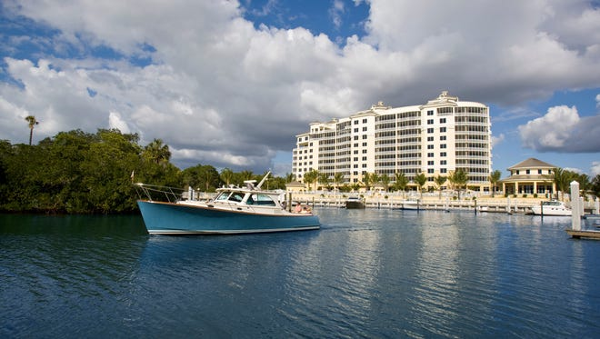 AQUA's boat slips offer residents the convenience of having access to a variety of watercraft just steps from their front door. Speedboats and sailboats are available for lease.