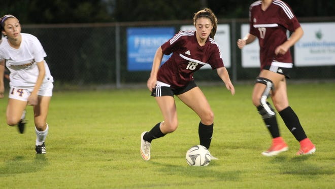 After defeating Clarksville in a sectional match over the weekend, Kate Johnson and Collierville will look to carry the momentum into the AAA state tournament which begins Wednesday in Murfreesboro.