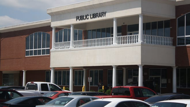 The Clarksville-Montgomery County Public Library is at 350 Pageant Lane in Clarksville. The Clarksville-Montgomery County Public Library, located at 350 Pageant Lane in Clarksville.