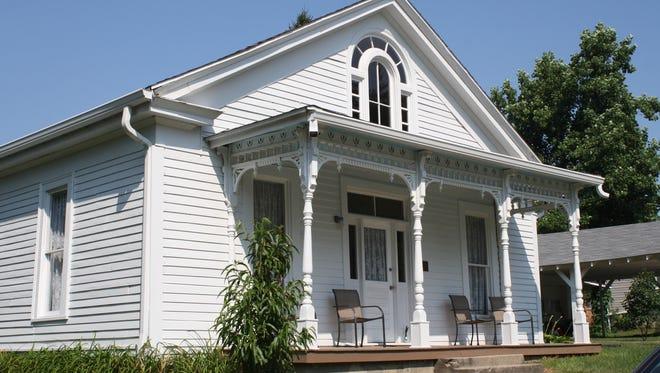 The boyhood home of artist T.C. Steele has been restored in Waveland.