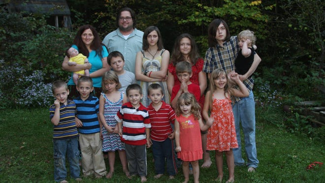 The Card family lost their Nanticoke home in a fire Nov. 13.