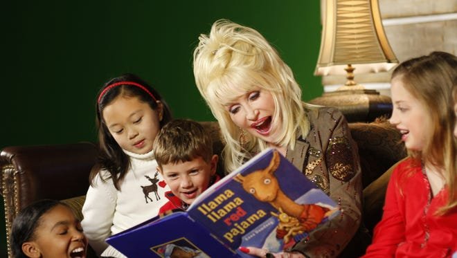 Dolly's Imagination Library extends to places far beyond her borders, including Australia, Canada and the UK.