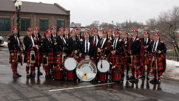 The Khartum Pipe & Drums from Winnipeg, Manitoba will