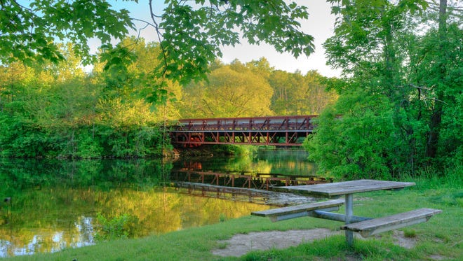 During warmer months, the Huron River is perfect for fishing, kayaking or canoeing.