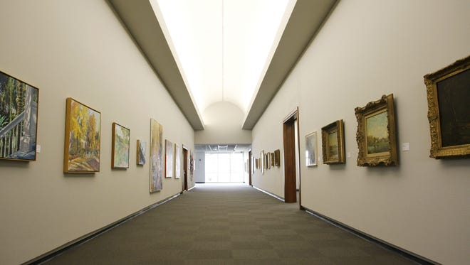A gallery at the Springfield Art Museum is shown in a file photo.