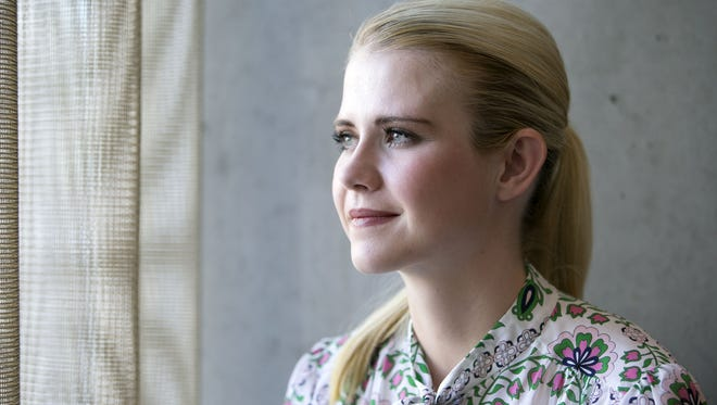 Elizabeth Smart, who was kidnapped in 2002 from her bedroom when she was 14 years old and held captive by a religious zealot for nine months, was in Tempe to speak about her new book at Changing Hands Bookstore. She is seen at the AC Hotel by Marriott in Tempe on March 29, 2018.