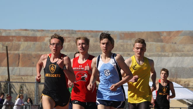Great Falls High's Teagan Olson finished third in the mile  at the Swede Dahlberg Invitational in Butte on Friday.