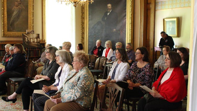 "A ""Music in the Parlor"" program was held at the Rutherford B. Hayes home on Sunday."