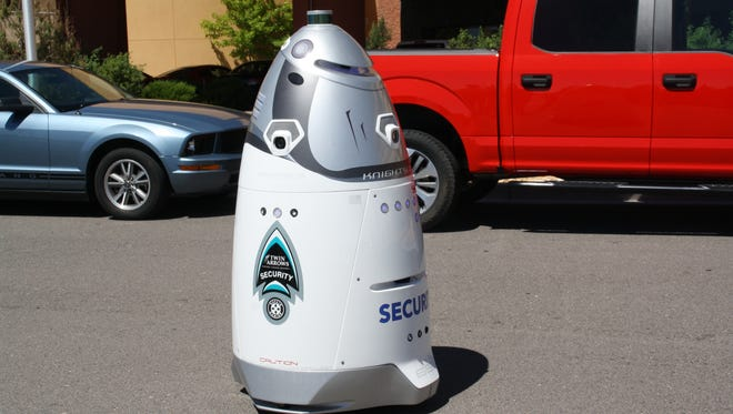 A new security robot is being used at the Twin Arrows casino in Northern Arizona.