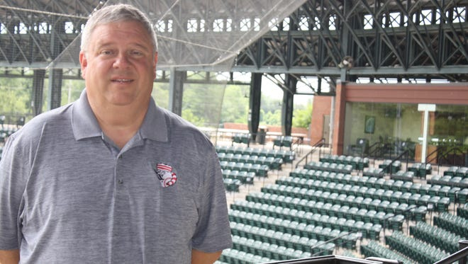 Greeneville Reds GM Brian Cox believes team's facilities are best in Appalachian League.